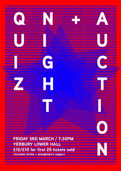 Quiz Night Poster - small