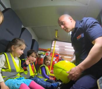 Nursery visits the Fire Station!